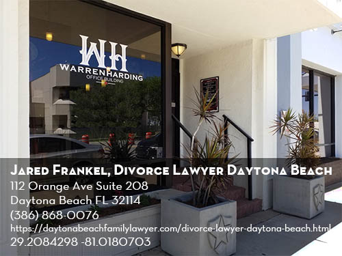 Jared Frankel Daytona Beach divorce lawyer